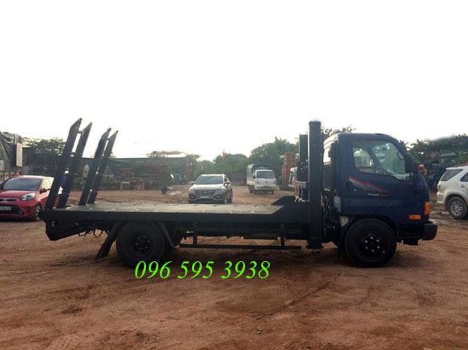 xe nâng đầu chở máy công trình 3.5 tấn
