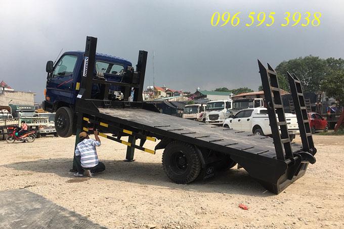 xe nâng đầu 7 tấn hyundai hd700