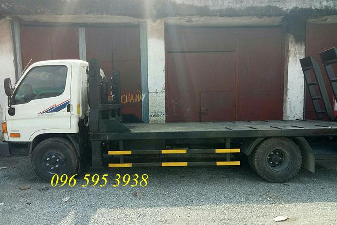 xe nâng đầu chở máy hyundai hd800