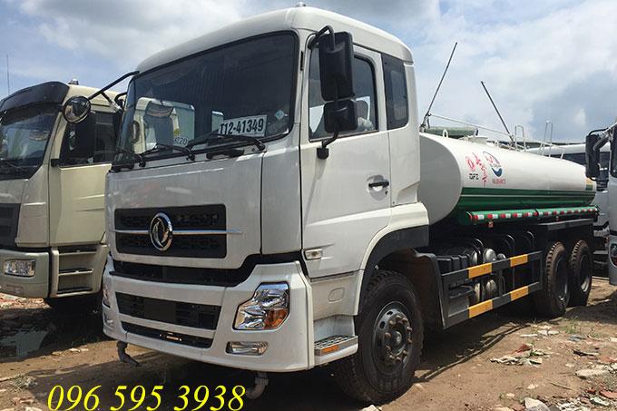 xe phun nước rửa đường 13 khối dongfeng