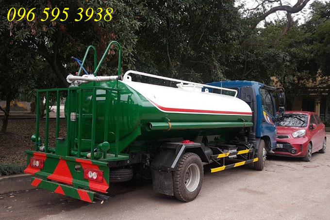 xe phun nước rửa đường 5 khối ollin 500b