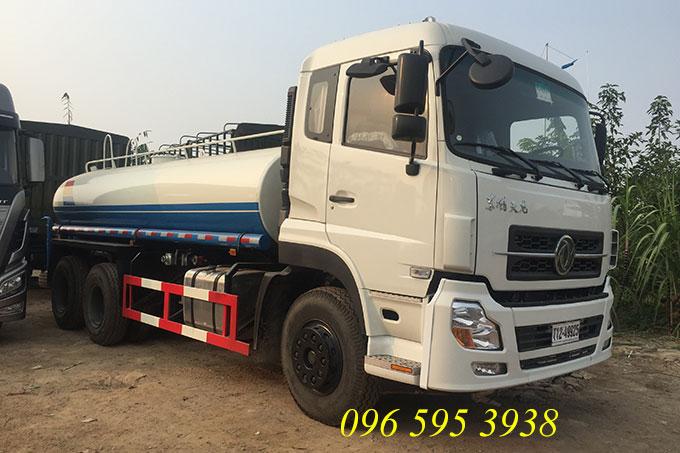 xe phun nước rửa đường dongfeng 13 khối