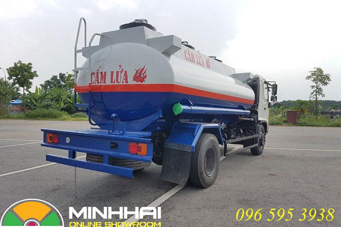 xe chở xăng dầu hino 11 khối