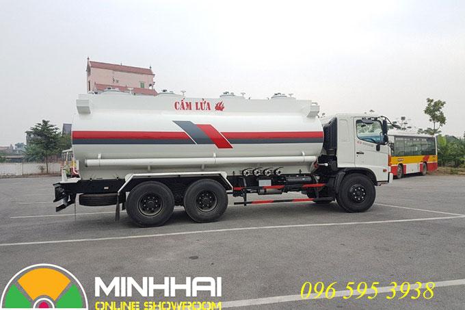 xe chở xăng dầu hino 19 khối